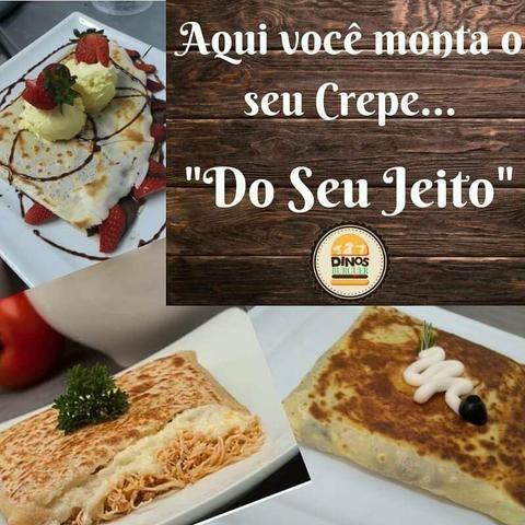 Hambúrgueria/Restaurante/Creperia