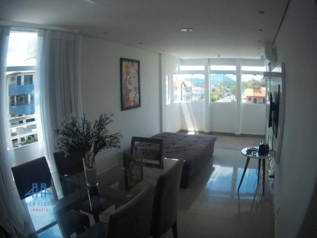 Apartamento com 3 dormitórios à venda, 78 m² por r$ 420.000 - canasvieiras - florianópolis - Foto 3