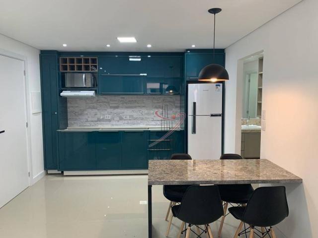 Apartamento com 1 dormitório para alugar, 50 m² por R$ 2.500,00/mês - Edifício Riverside - - Foto 7