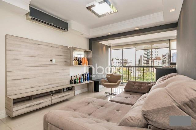 Magnífico apartamento com 2 dormitórios para alugar, 86 m² por R$ 4.800/mês - Três Figueir - Foto 4