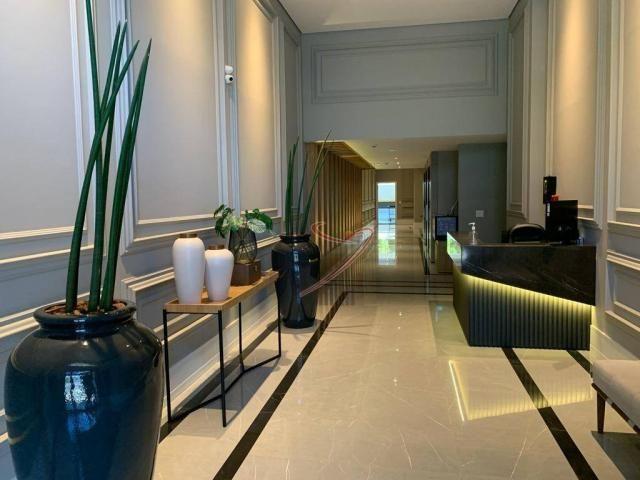 Apartamento com 1 dormitório para alugar, 50 m² por R$ 2.500,00/mês - Edifício Riverside - - Foto 3