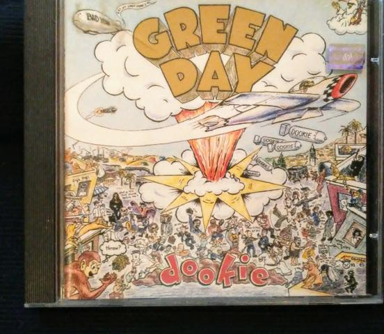CD da banda Green Day - Dookie (original)