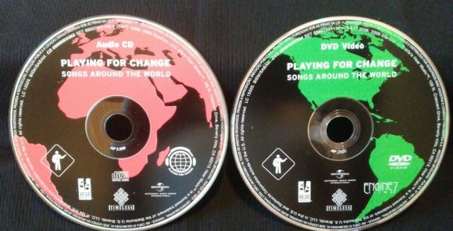 CD e DVD Playing For Change - Songs Around The World (Originais) - Foto 4