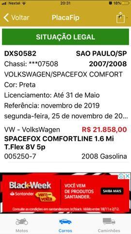 Space Fox Comfort 1.6 Flex 2008 - Foto 14