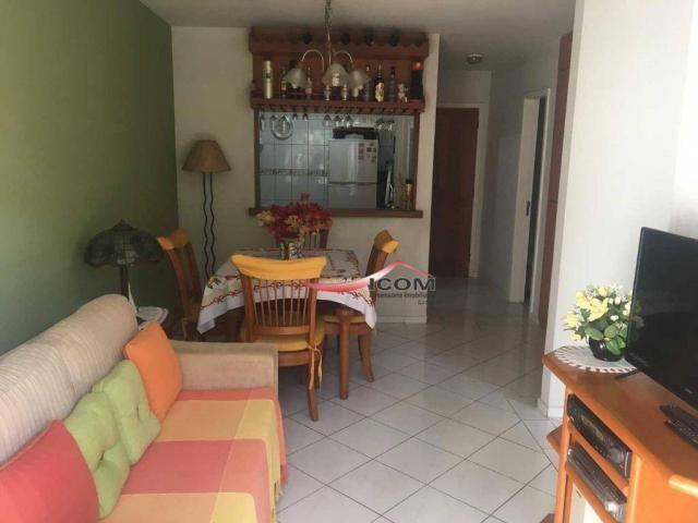 Apartamento com 2 dormitórios à venda, 61 m² por R$ 340.000,00 - Itaipava - Petrópolis/RJ