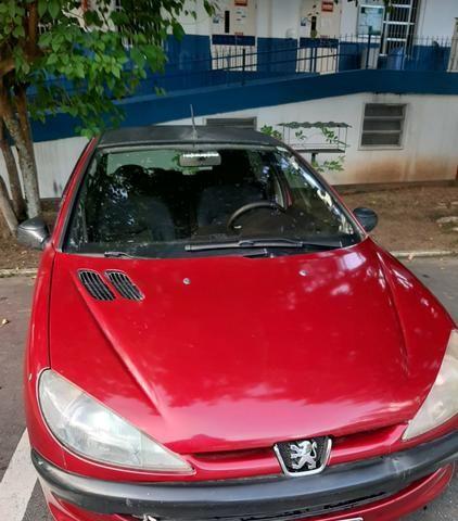 Vende-se carro - pegeout 206 - 04 portas -r$10.100 - Foto 3