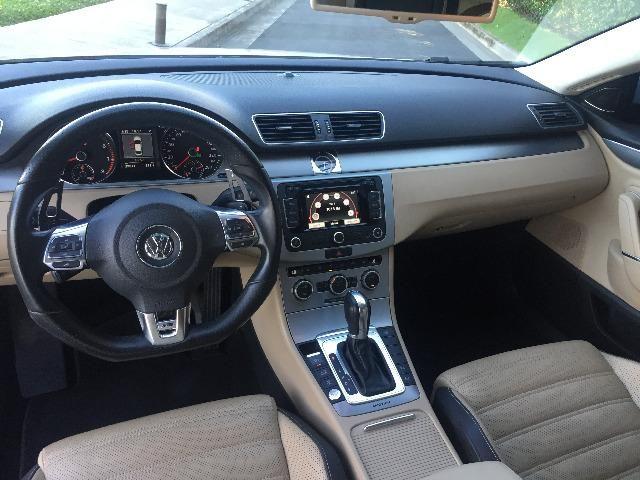 VW Passat CC R-line 3.6 V6 2014 o mais top da categoria - Foto 7