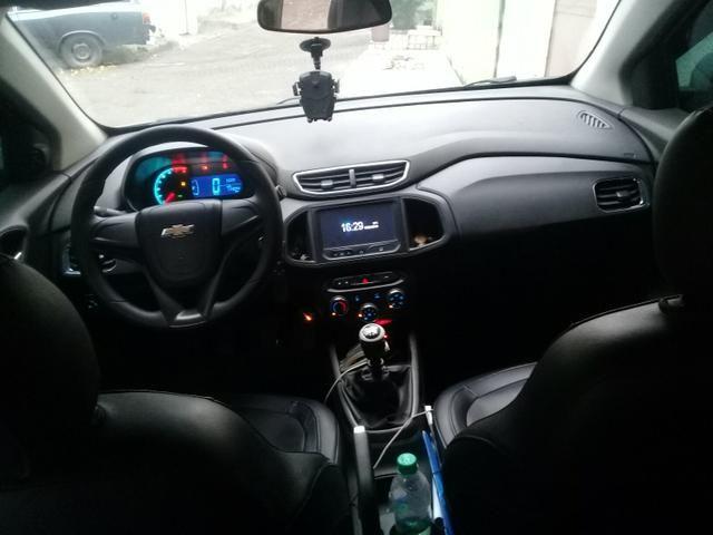 Vendo ônix LTZ com gnv banco decouro - Foto 3