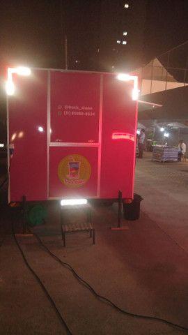 trailer food truck padrão semi novo milkshake açaí lanche pastel churros está em Jundiaí  - Foto 3