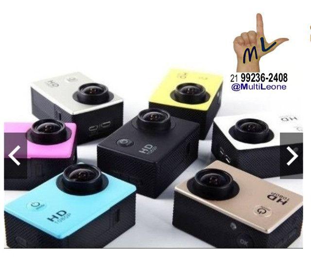 Camera Sports Hd Dv 1080p Filmadora Portátil À Prova D'agua Full Hd Dv 30m - Foto 6