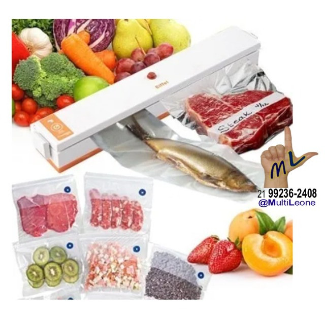 Seladora à Vácuo Freshpack Pro Embaladora de Alimentos fotos - Foto 2