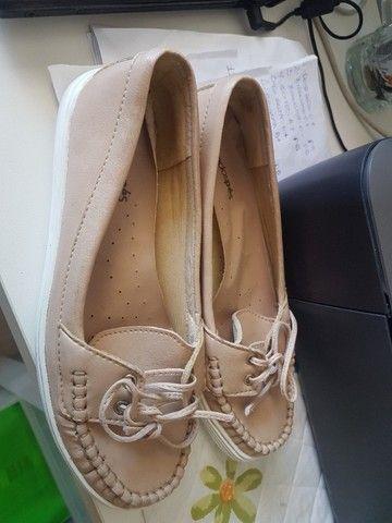 Sapato(Mocassin) Nº 36, aspecto de novo, usou uma vez e não gostou! - Foto 3