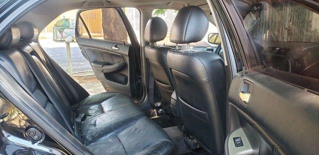 Honda Accord V6 vtec completo teto couro. Nave. Pego menor valor  - Foto 8