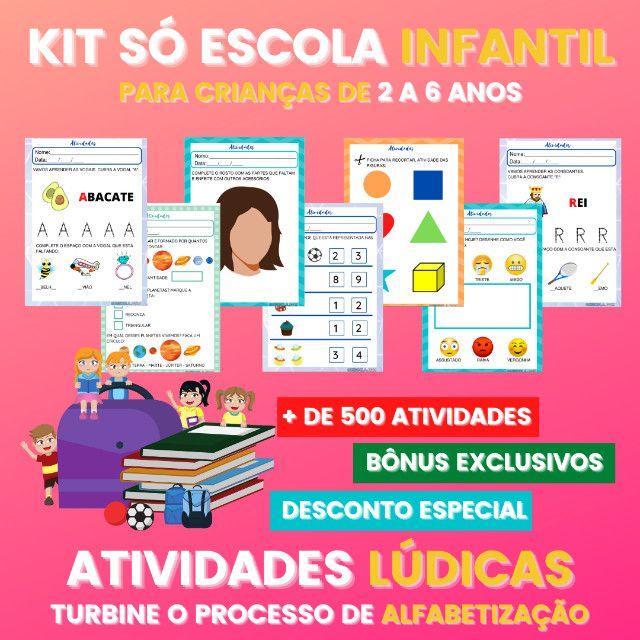 .:: Kit de Atividades ::. Kit Infantil - Foto 3
