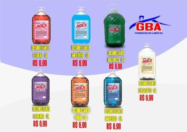 Produtos de limpeza em promoção