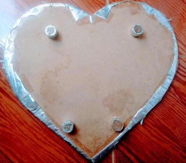 Kit Tábuas para Bolo em Formato de Coração e Redonda com pés - usadas - Foto 3