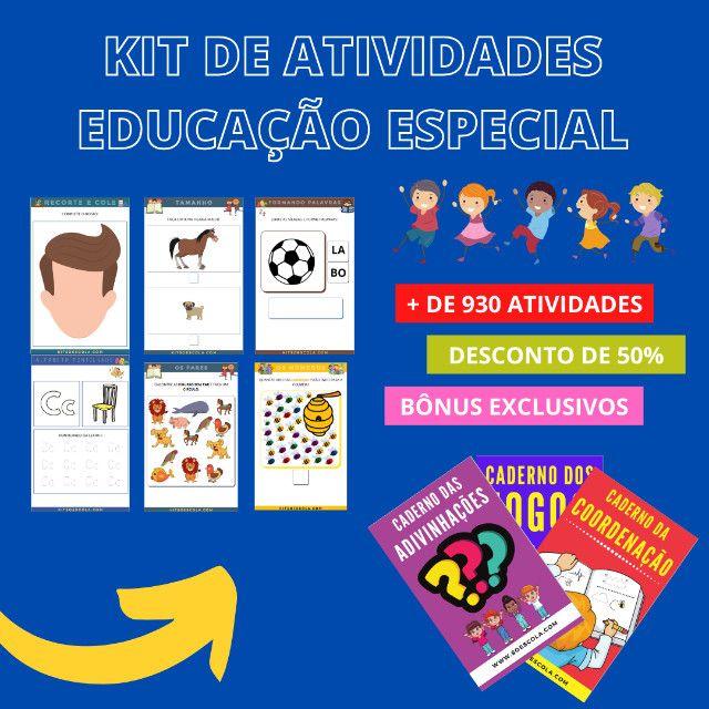 .:: Kit de Atividades :: Kit Educação Especial - Foto 6