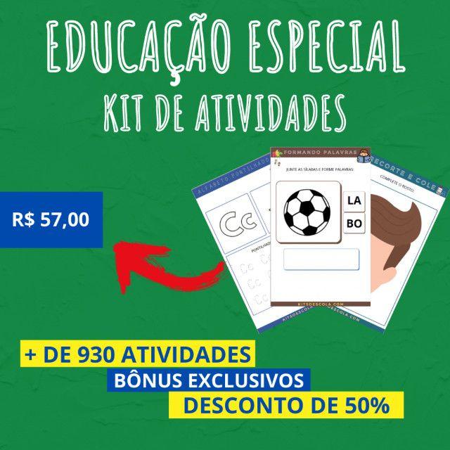 .:: Kit de Atividades :: Kit Educação Especial - Foto 5
