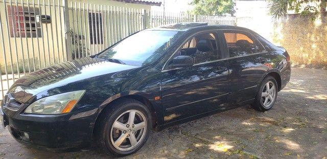 Honda Accord V6 vtec completo teto couro. Nave. Pego menor valor  - Foto 3