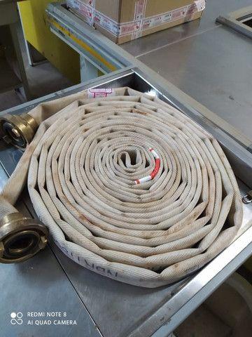 Mangueiras de incêndio tipo 2 de 1 1/2 Coutoflex com pontas com teste hidrostático - Foto 2