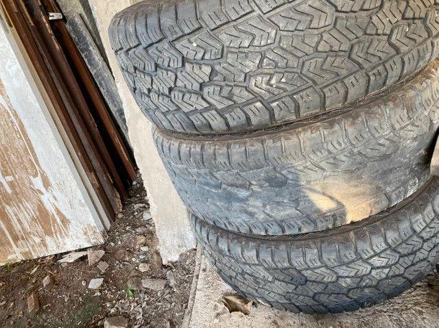 Rodas aro 20 com pneus - Foto 4