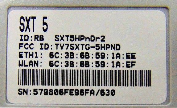 Mikrotik Routerboard RBsXT- 5HPnD-R2 L3 - Foto 2