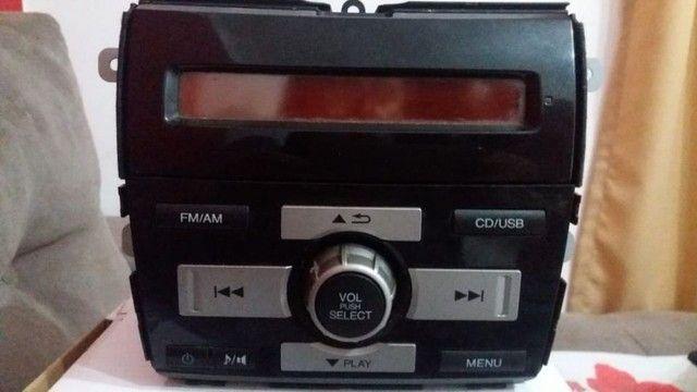 Radio CD Original  Honda City - Foto 3