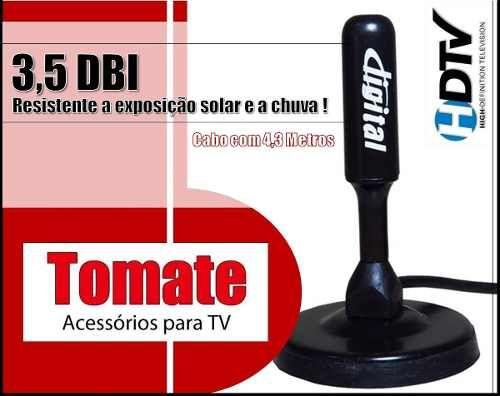 Antena Hd Digital Mta-3003 Tomate Interior Exterior Hdtv Hd
