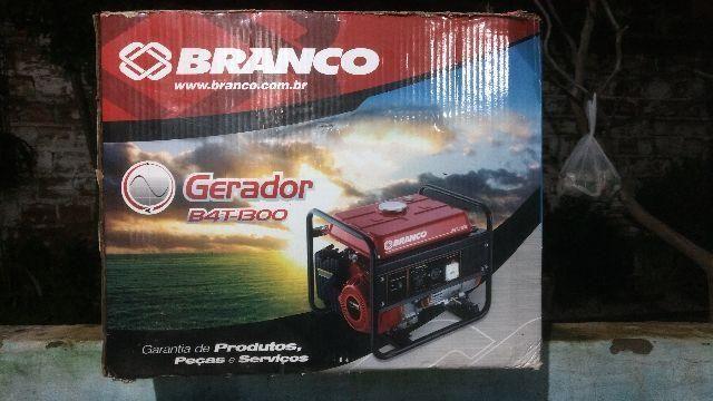 Gerador B4T-1300 Branco zerado na caixa