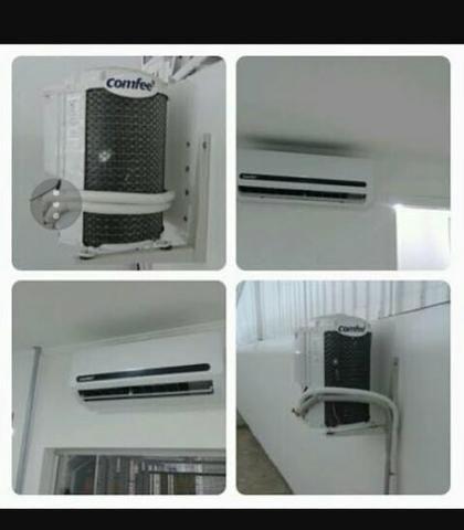 Instalação de ar condicionado e manutenções
