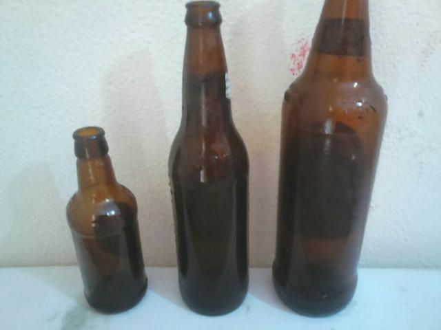 Vasilhame e caixas de cervejas