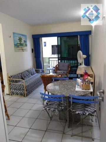 Apartamento com 1 dormitório à venda, 38 m² por R$ 220.000 - Porto das Dunas - Aquiraz/CE - Foto 15
