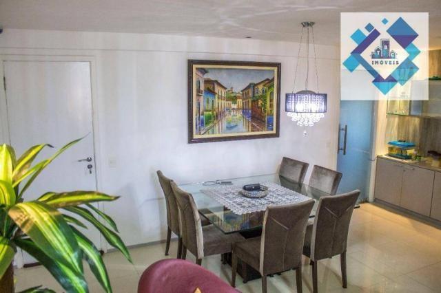 Apartamento residencial à venda, Varjota, Fortaleza. - Foto 3