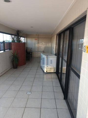 Apartamento com 2 dormitórios à venda, 110 m² por R$ 550.000 - Jatiúca - Maceió/AL - Foto 15