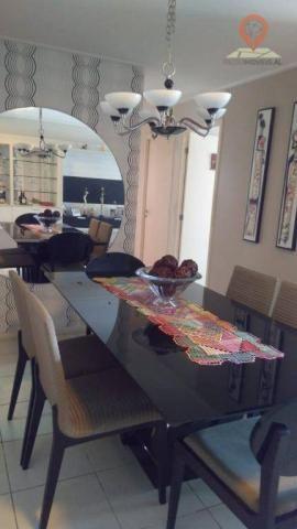 Apartamento com 2 dormitórios à venda, 110 m² por R$ 550.000 - Jatiúca - Maceió/AL - Foto 3