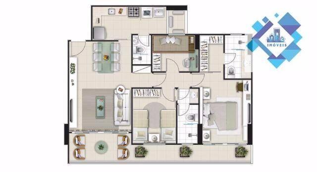 Apartamento residencial à venda, Aldeota, Fortaleza. - Foto 6