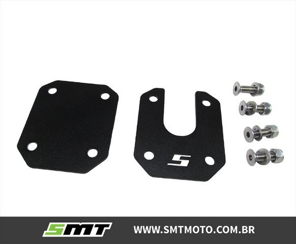 Base Descanso Cb500x Ampliado Big Foot Honda Cb 500x Smt - Foto 3