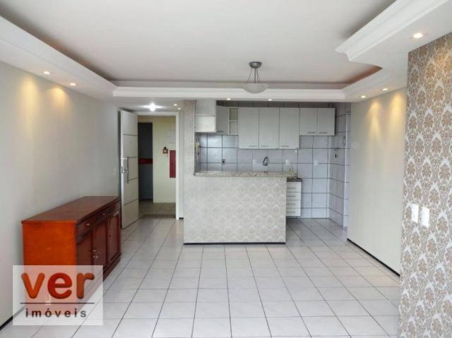 Apartamento com 3 dormitórios para alugar, 74 m² por R$ 800,00/mês - Messejana - Fortaleza - Foto 17