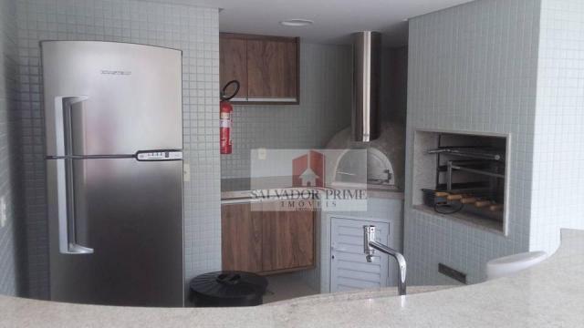 Apartamento residencial à venda, Caminho das Árvores, Salvador. - Foto 16
