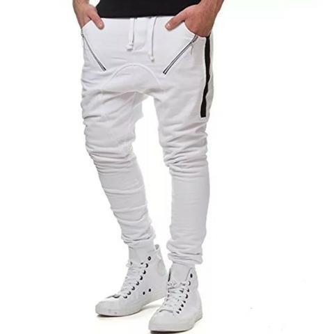 Calça Moletom Saruel Masculina - Calça Skinny Swag V91 - Foto 4