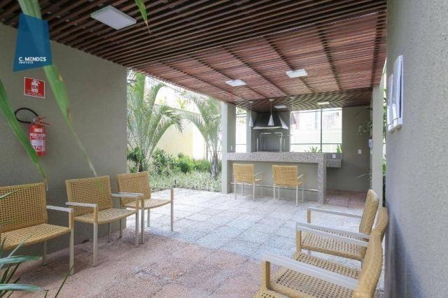 Apartamento com 3 dormitórios à venda, 71 m² por R$ 455.000,00 - Cocó - Fortaleza/CE - Foto 9