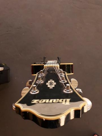 Guitarra Semi Acústica Ibanez Artcore Ag-75bs C/ Semi Case - Foto 6