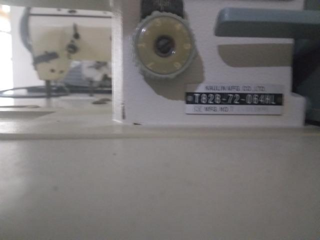 Máquina De Costura Pespontadeira 2 Agulhas Ponto Fixo - Foto 4