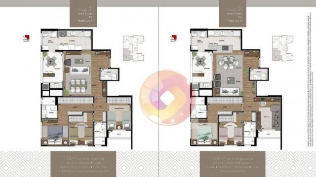 Apartamento com 3 dormitórios à venda, 106 m² por R$ 784.742,00 - Boa Vista - Curitiba/PR - Foto 10