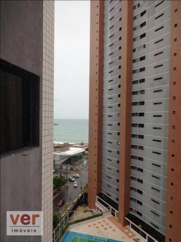 Apartamento com 2 dormitórios à venda, 115 m² por R$ 665.000,00 - Meireles - Fortaleza/CE - Foto 9