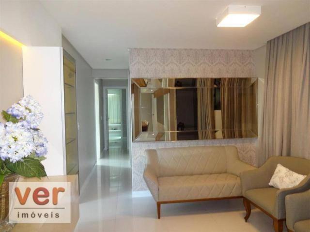 Apartamento à venda, 153 m² por R$ 800.000,00 - Engenheiro Luciano Cavalcante - Fortaleza/ - Foto 7
