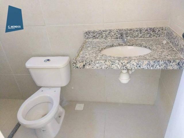 Casa Duplex 124 m² para locação, semi-mobiliada 3 suites 3 vagas, condominio, Jacundá, Eus - Foto 12