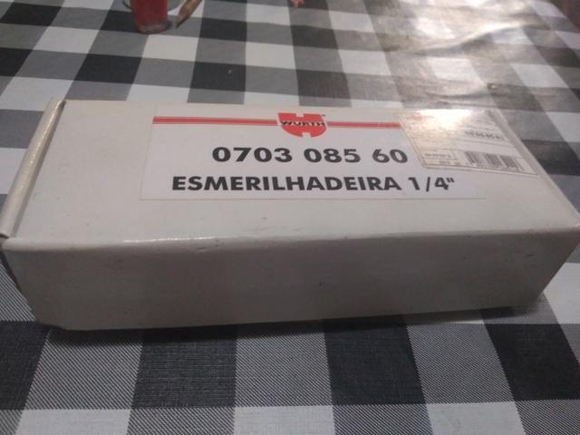 """Esmerilhadeira 1/4"""" - Foto 2"""