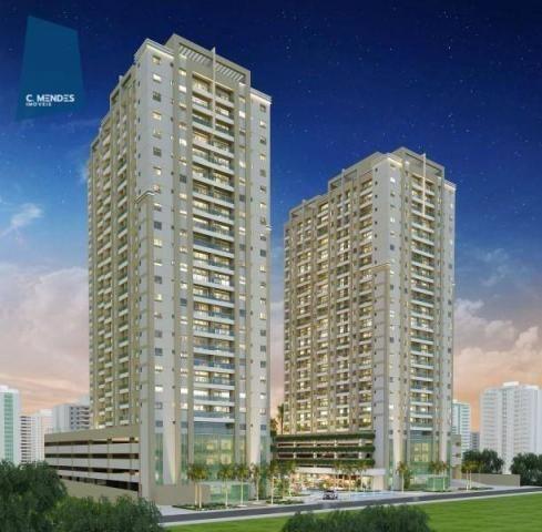 Apartamento à venda, 48 m² por R$ 443.096,80 - Fátima - Fortaleza/CE - Foto 3