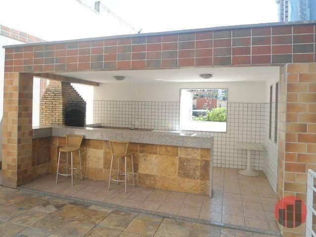 Apartamento com 3 dormitórios para alugar, 63 m² por R$ 1.900/mês - Mucuripe - Fortaleza/C - Foto 4